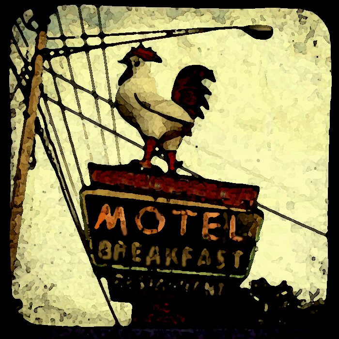Motel rooster
