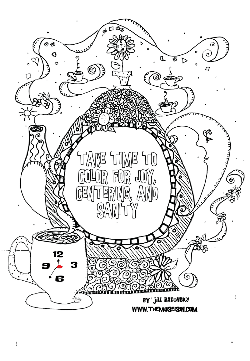 Top page coloring book