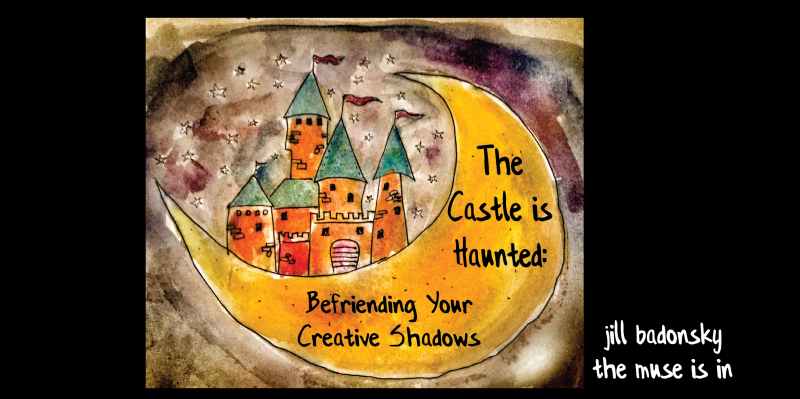 The castle is haunted
