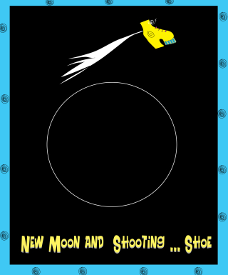 New moon shooting shoe
